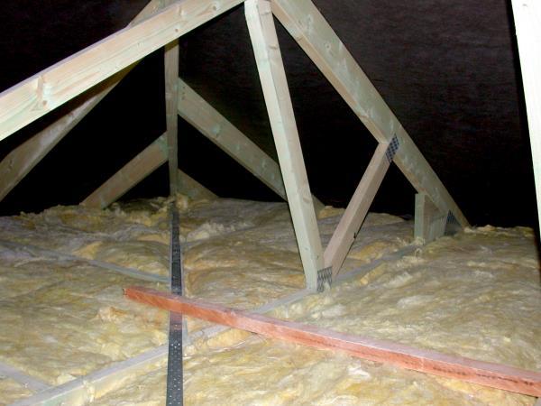 Dämmung zum Dach