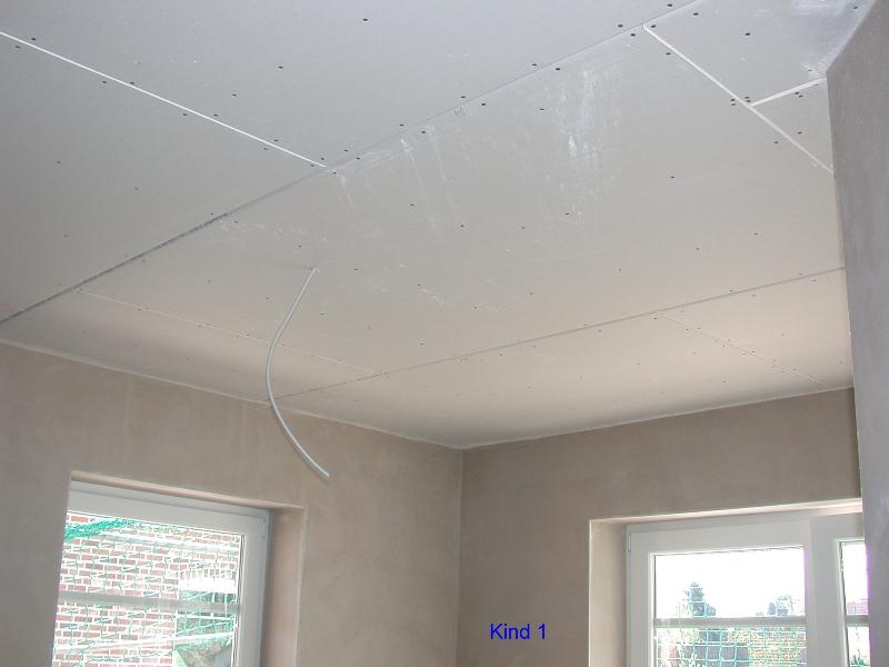 Decke Obergeschoss